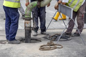 depositphotos 203869732 stock photo sewer lines cleaning service unblock